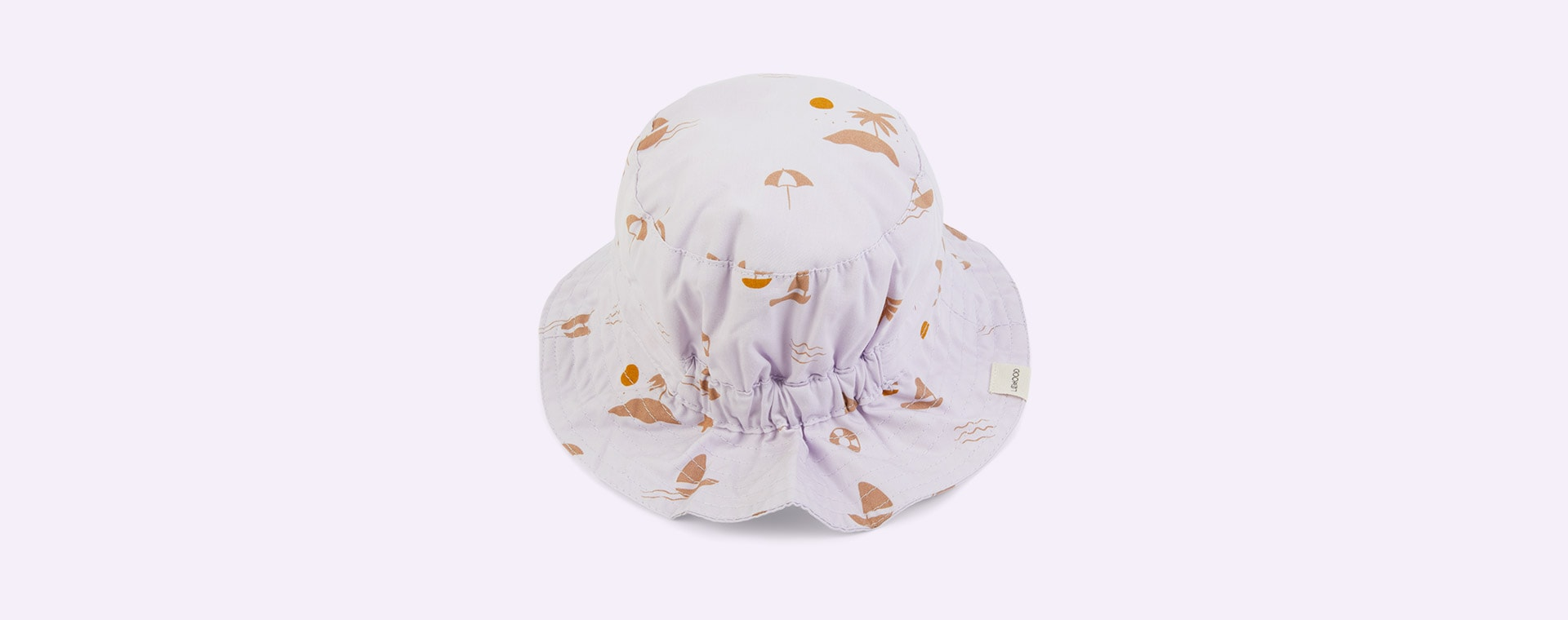 Seaside Light Lavender Liewood Sander Sun Hat