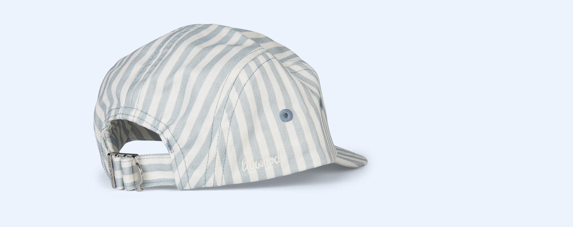 Sea Blue Stripe Liewood Rory Cap
