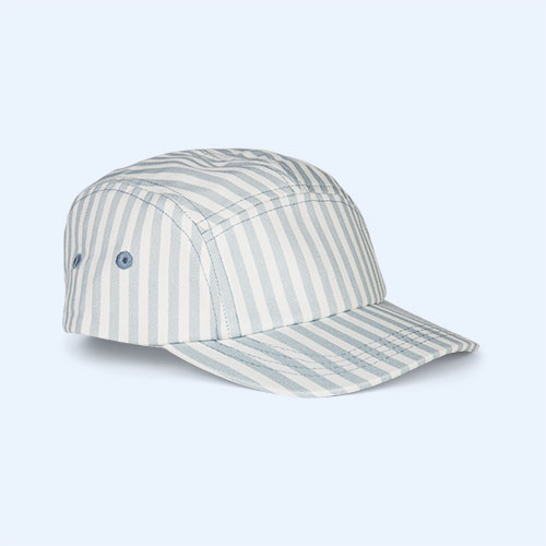 Sea Blue Stripe Liewood Rory Cap