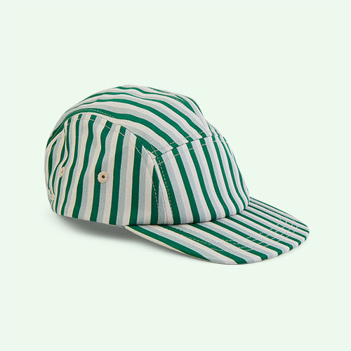 Stripe: Garden Green Multi