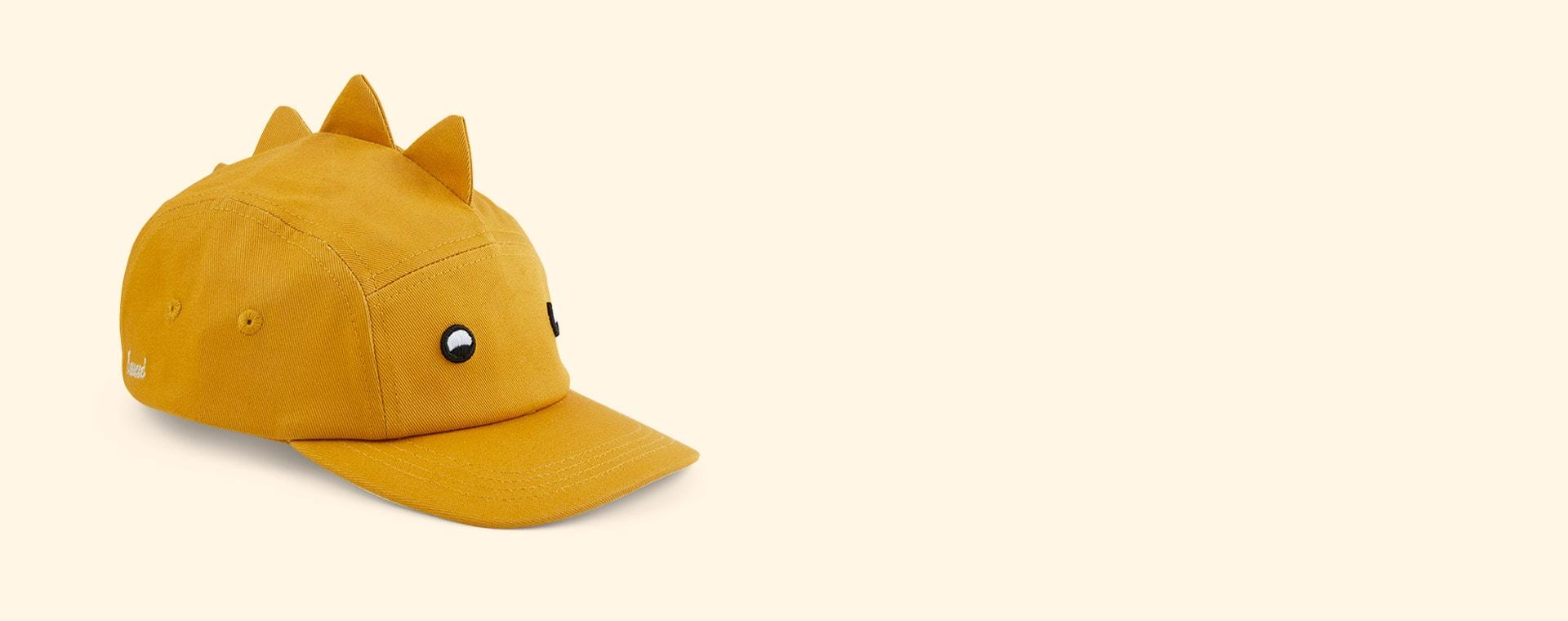 Dino Yellow Mellow Liewood Rory Cap