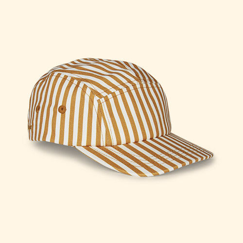 Mustard Stripe Liewood Rory Cap