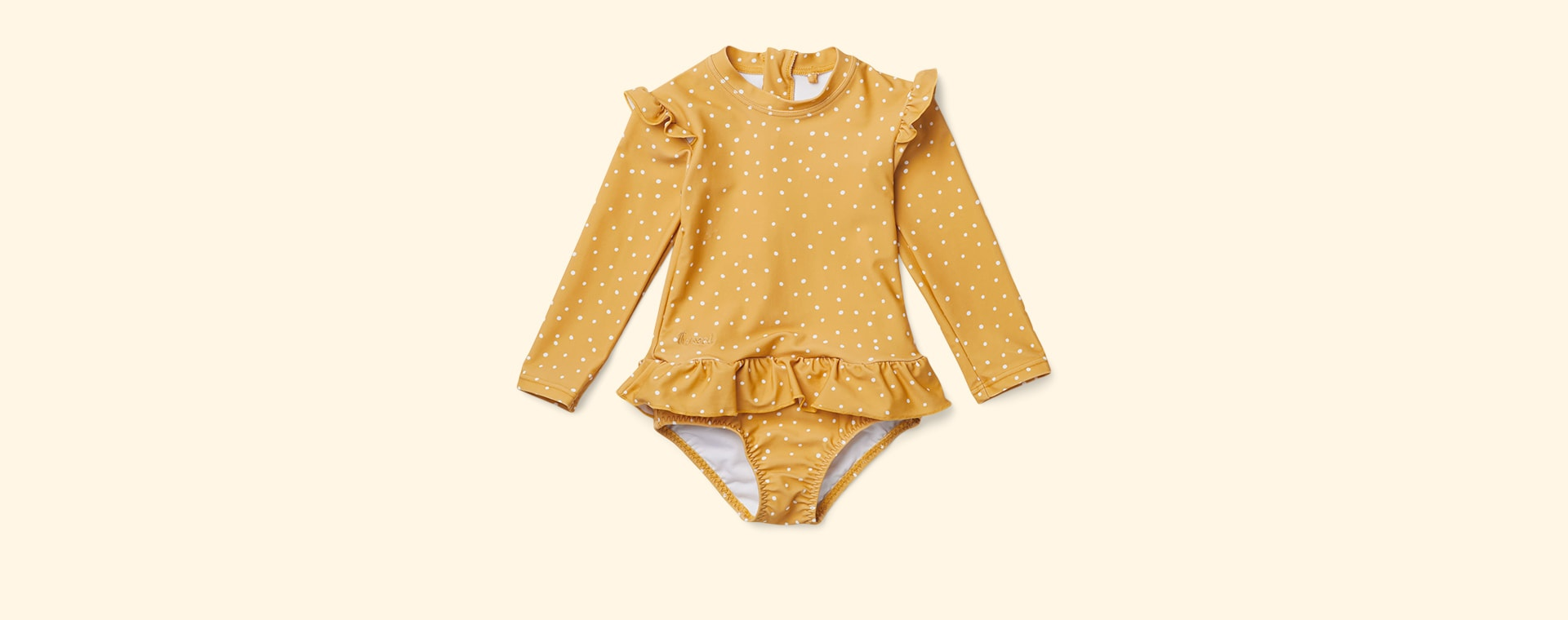 Confetti Yellow Mellow Liewood Sille Swim Jumpsuit