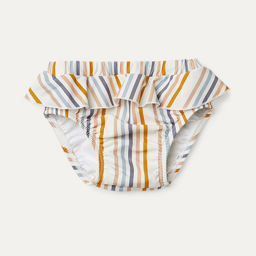 Stripe Liewood Elise Baby Girl Swim Pants
