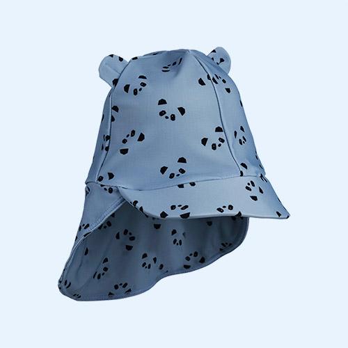 Panda Blue Wave Liewood Senia Sun Hat