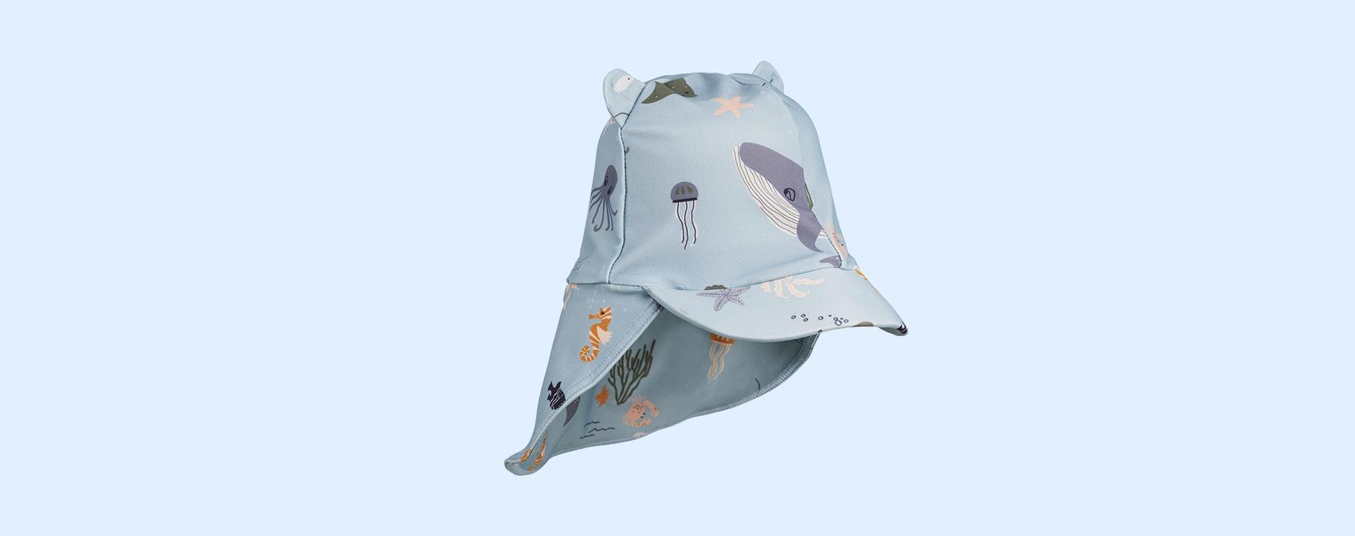 Sea Creatures Mix Liewood Senia Sun Hat
