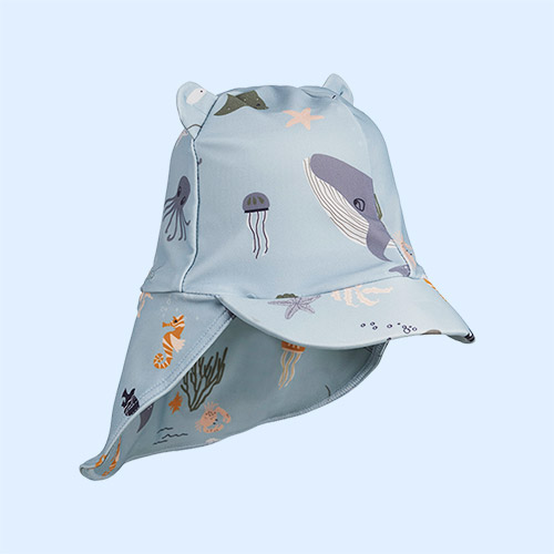 Sea Creatures Mix Liewood Senia Sun Hat