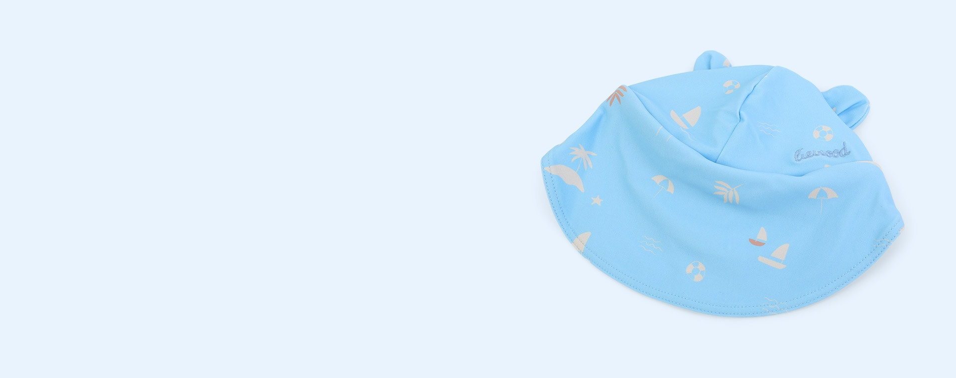 Seaside Sky Blue Liewood Senia Sun Hat