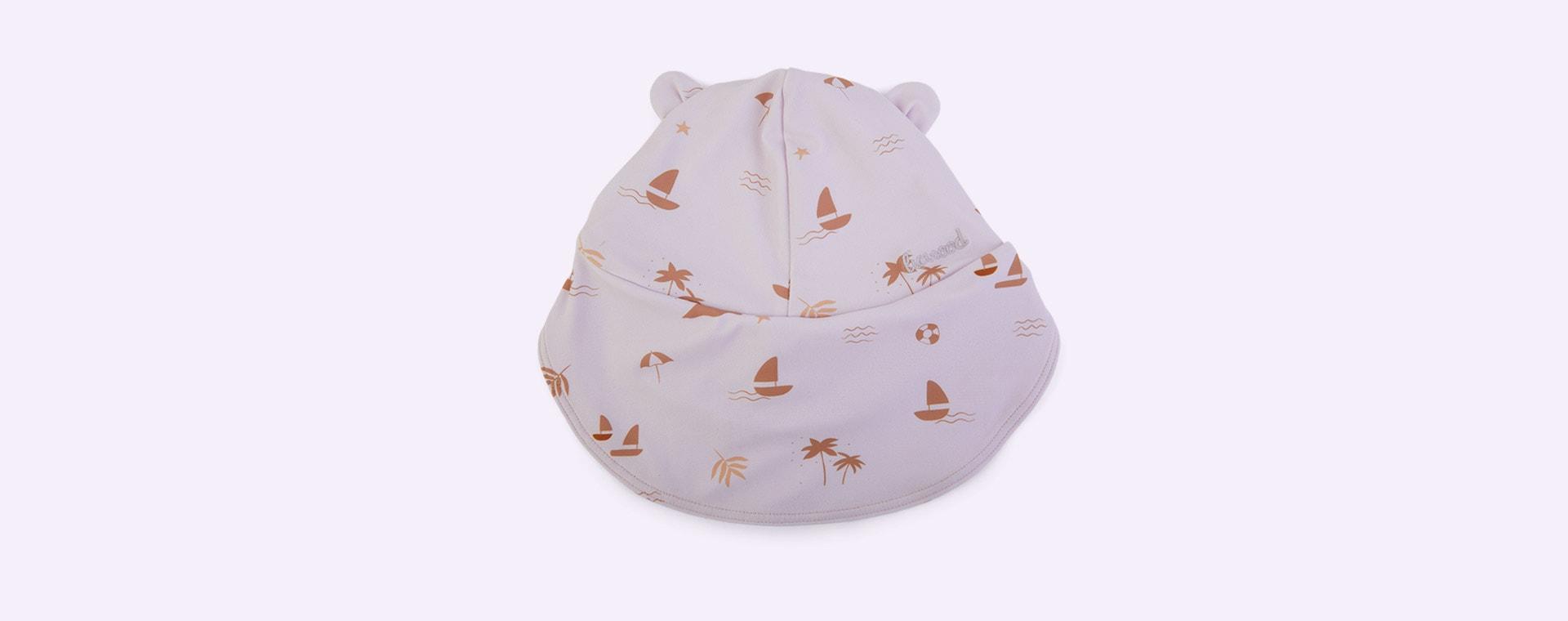 Seaside Light Lavender Liewood Senia Sun Hat