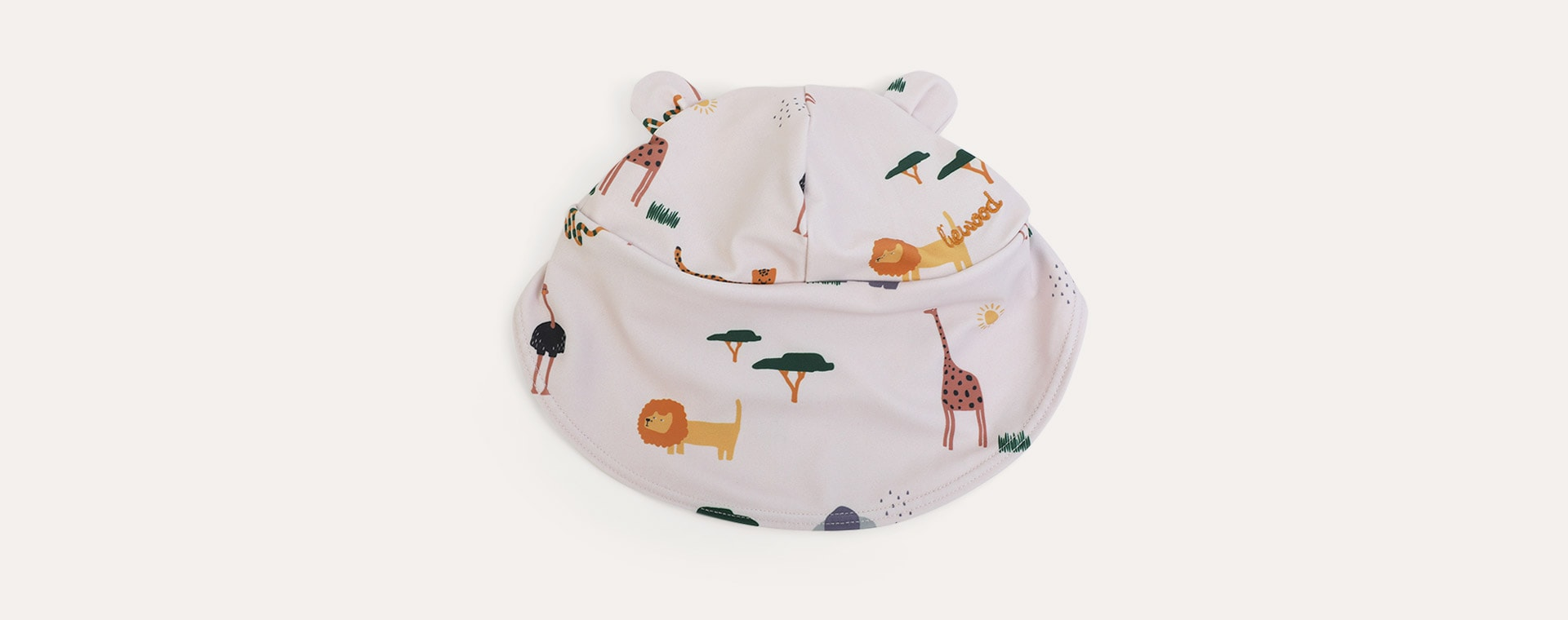 Safari sandy mix Liewood Senia Sun Hat