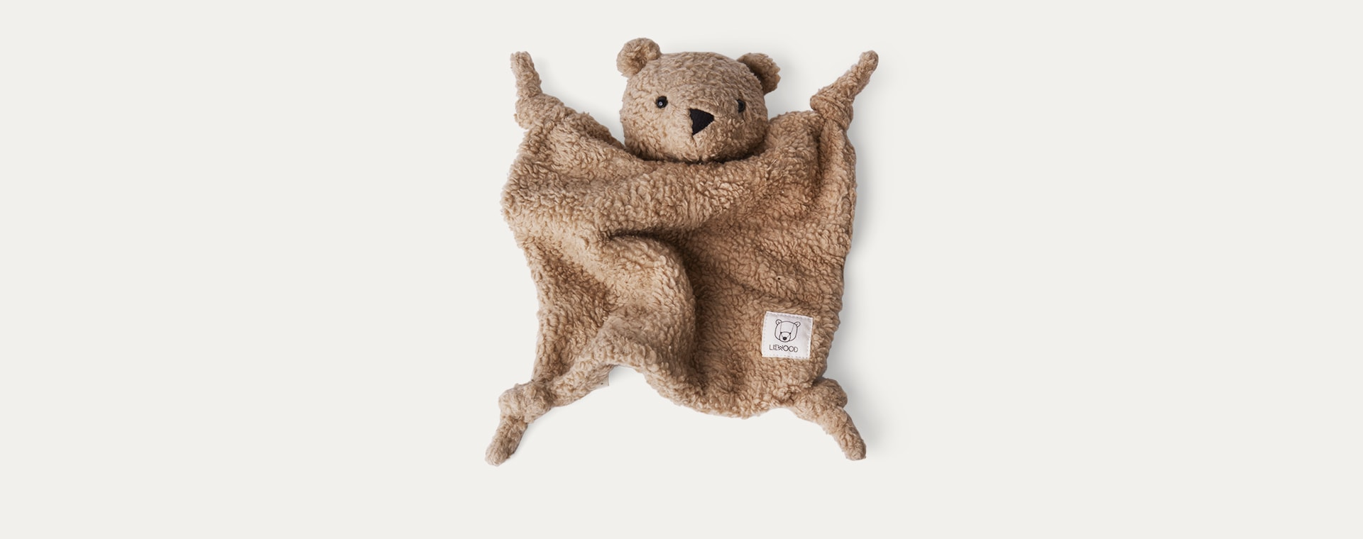 Bear Beige Liewood Lotte Cuddle Cloth