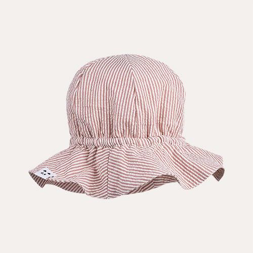 Dark Rose/Ecru Liewood Evelyn Sun Hat