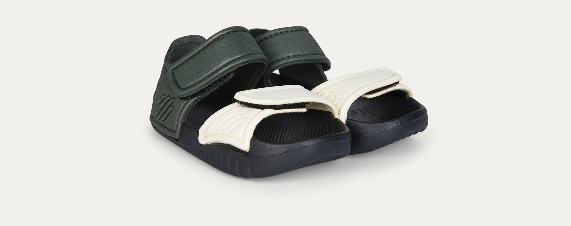Faune Green/Black Mix Liewood Blumer Sandals