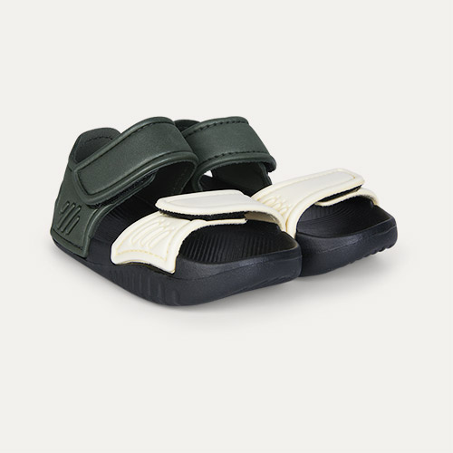 Faune Green/Black Mix Liewood Blumer Sandals