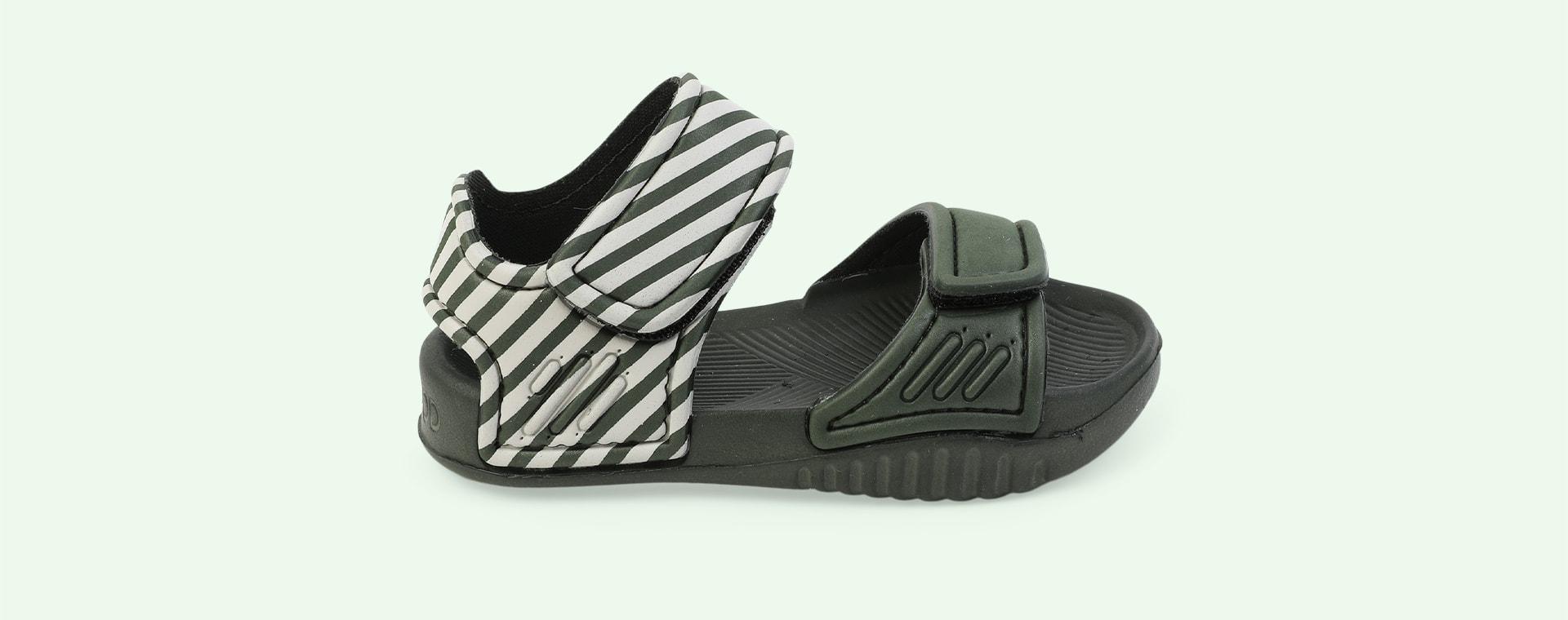 Stripe: Hunter green/sandy Liewood Blumer Sandals