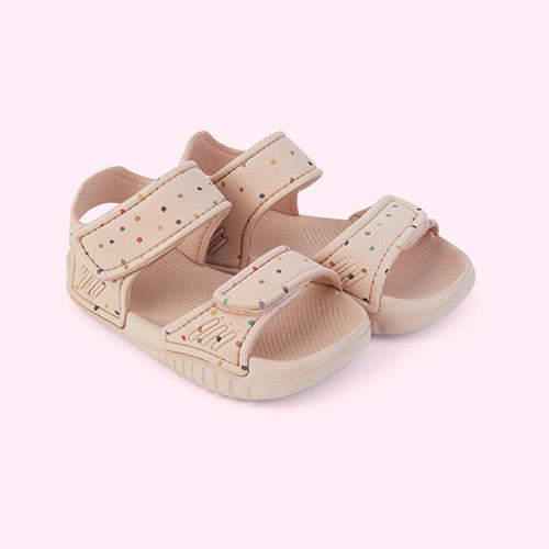 Confetti mix Liewood Blumer Sandals