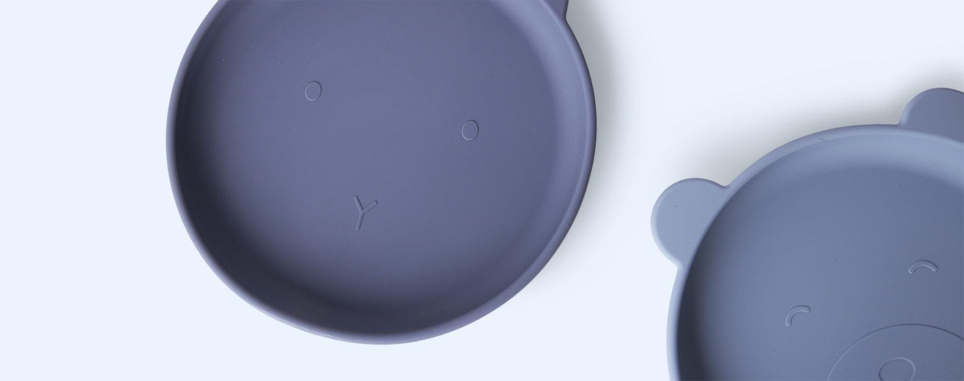 Blue Mix Liewood 2-Pack Olivia Plates