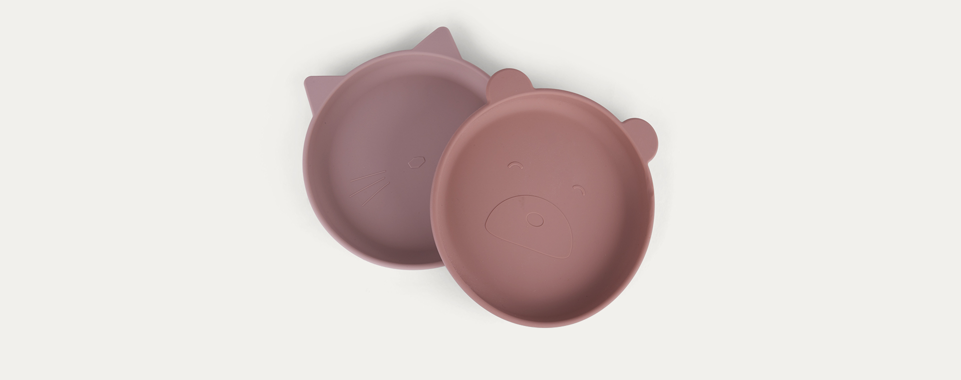 Rose Mix Liewood Olivia 2 Pack Plates