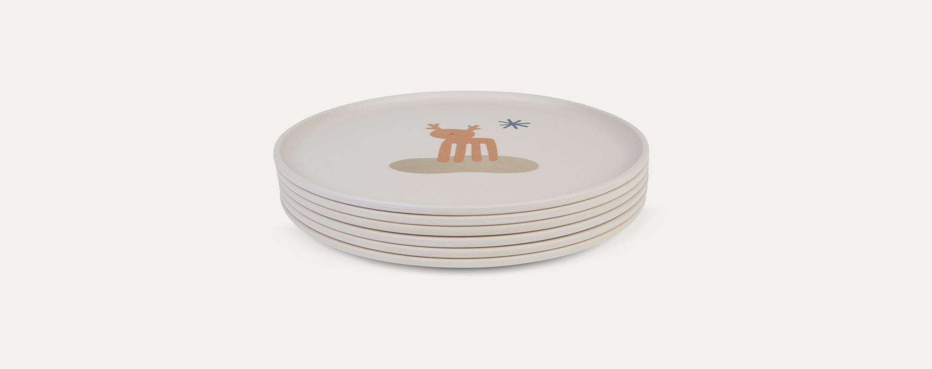 Holiday Mix Liewood Patrick Bamboo Plates