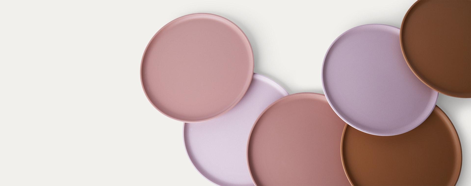 Rose Multi Mix Liewood Patrick Bamboo Plates
