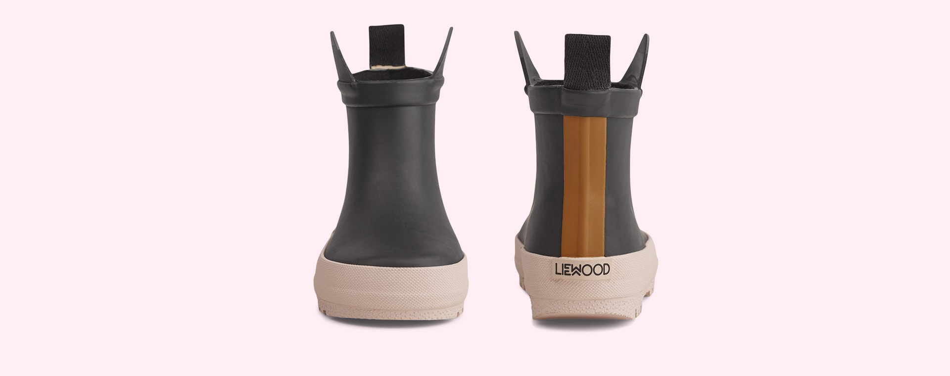 Black/Rose Mix Liewood Tekla Rain Boot