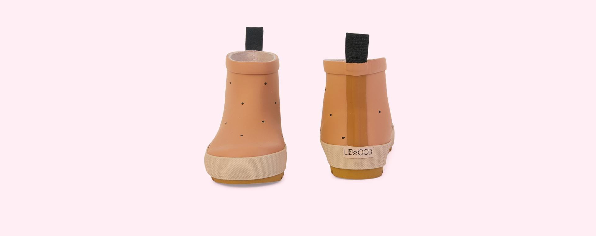 Classic dot tuscany rose mix Liewood Tekla Rain Boot