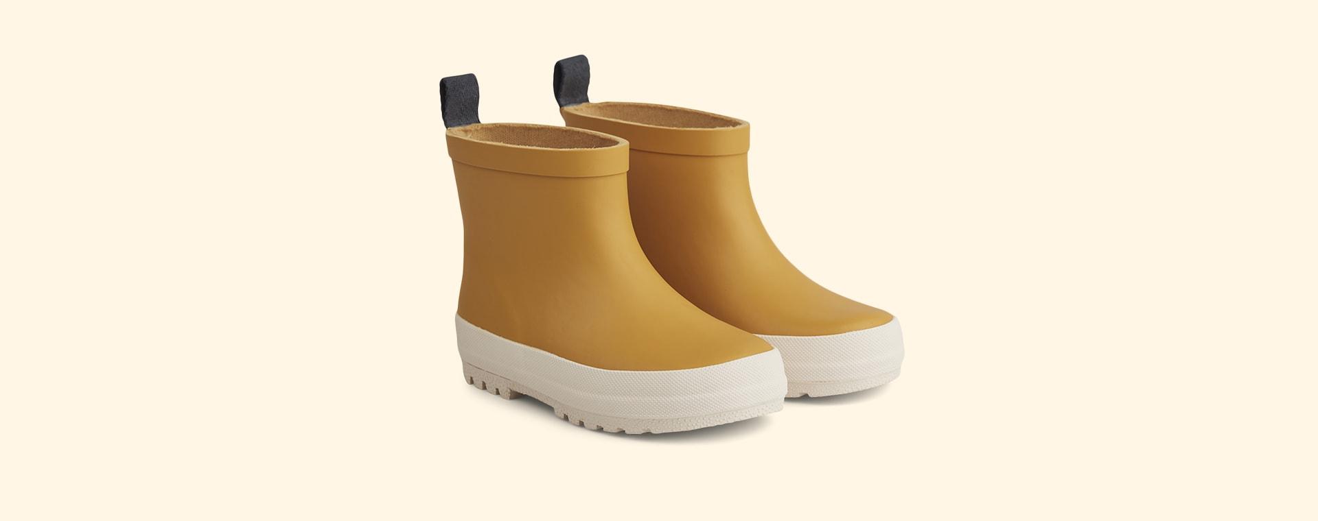 Yellow Mellow/Creme De La Creme Liewood Tekla Rain Boot