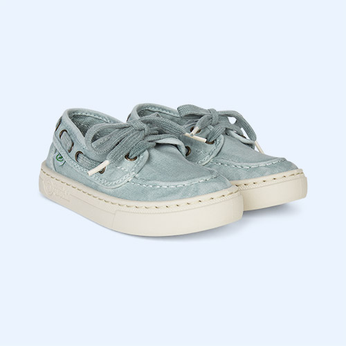 Aqua Natural World Nautical Canvas Trainer