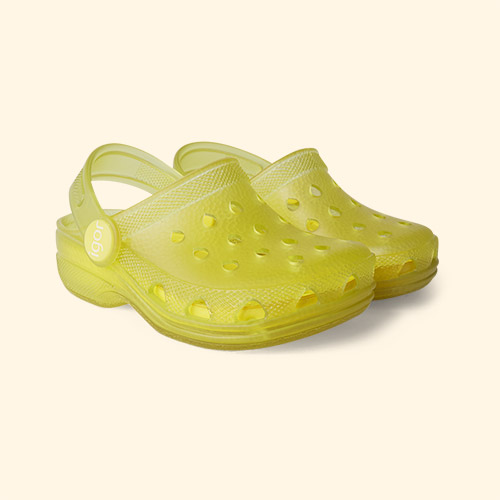 Yellow igor Poppy Summer Clogs