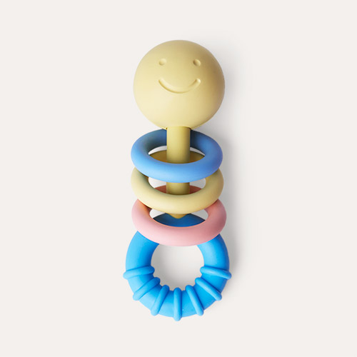 Multi Hape Rattling Rings Teether