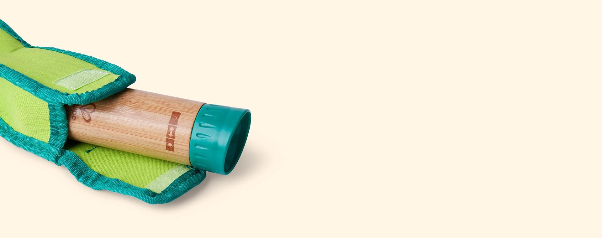 Green Hape Hand Powered Flashlight