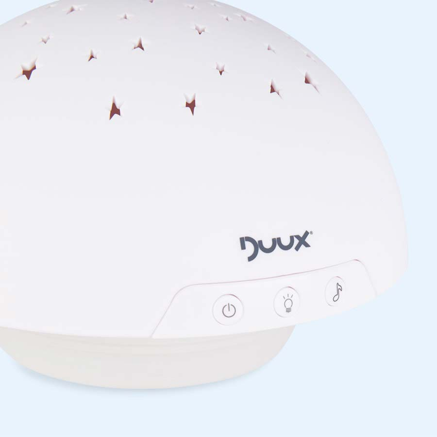 White Duux Baby Projector