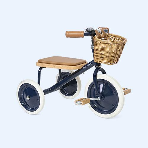 Navy Banwood Trike