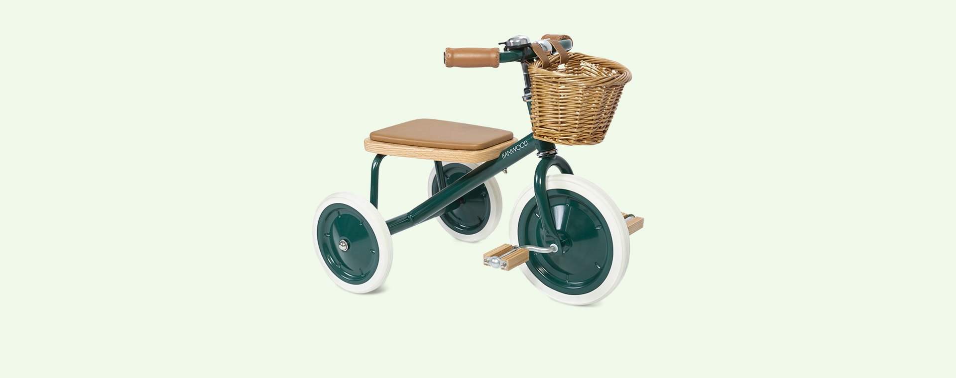 Dark Green Banwood Trike