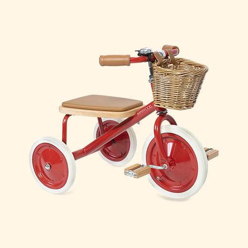 Red Banwood Trike