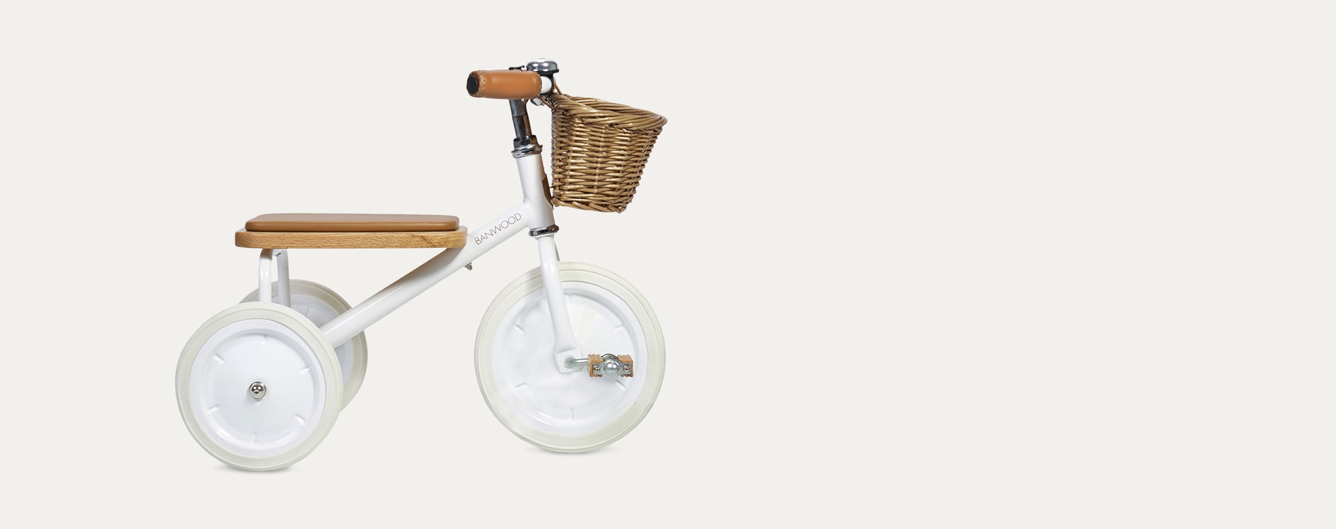 White Banwood Trike