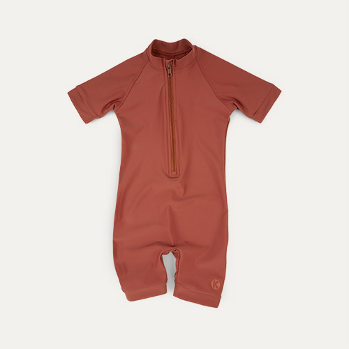 Terracotta KIDLY Label Eco Sun Suit
