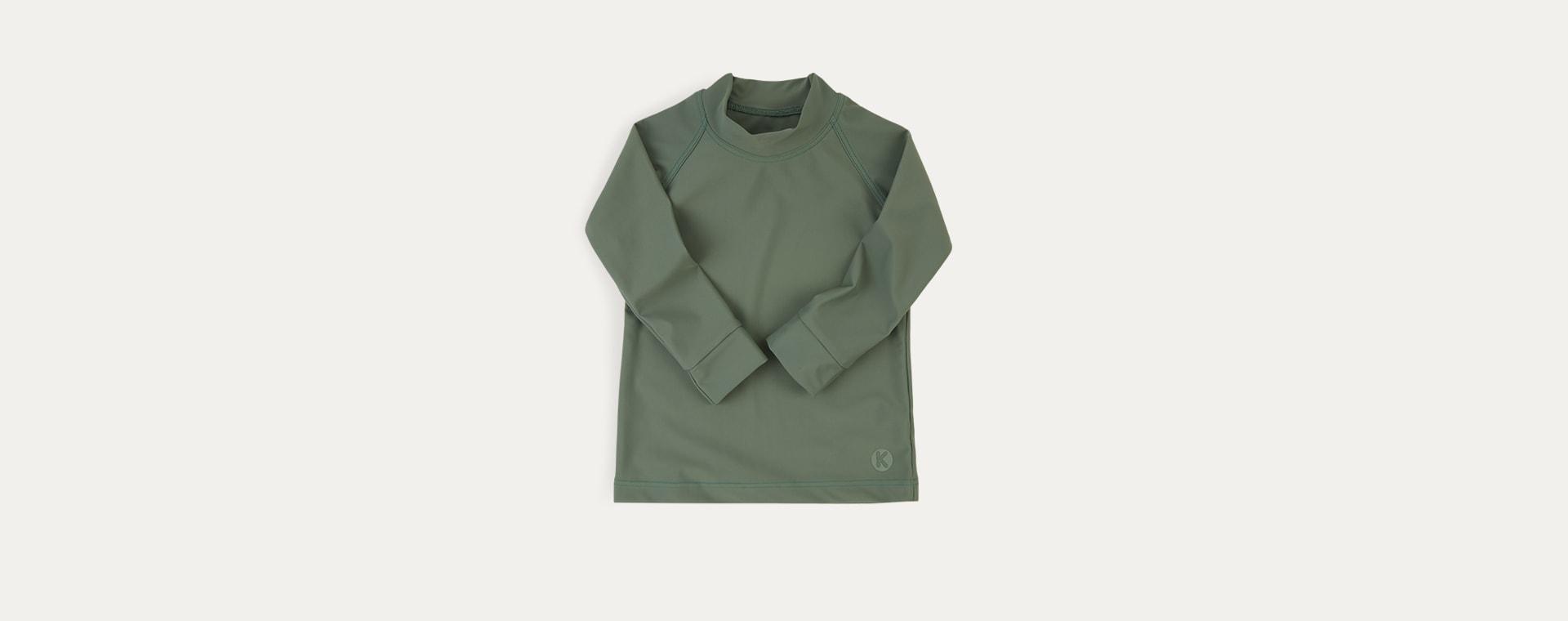 Olive KIDLY Label Recycled Rash Vest