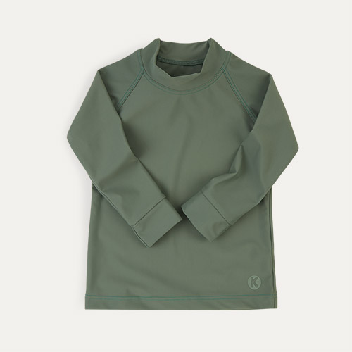 Olive KIDLY Label Eco Rash Vest