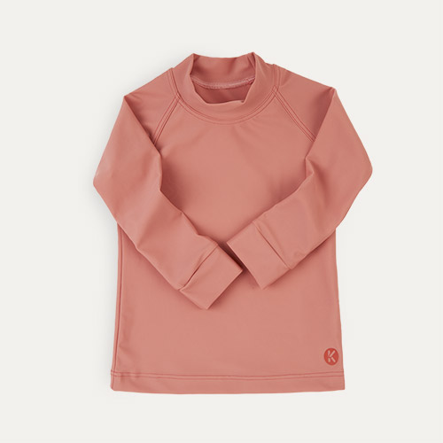 Coral KIDLY Label Eco Rash Vest