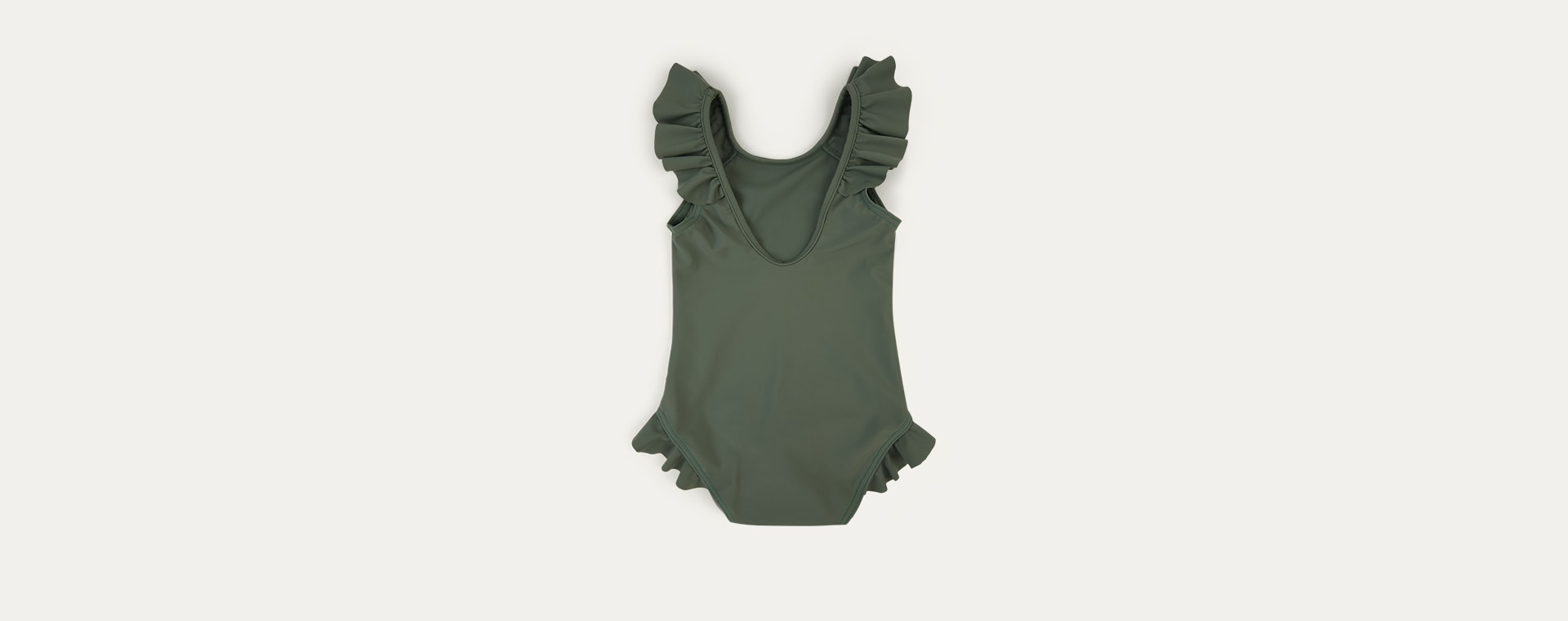 Olive KIDLY Label Recycled Frill Swimsuit