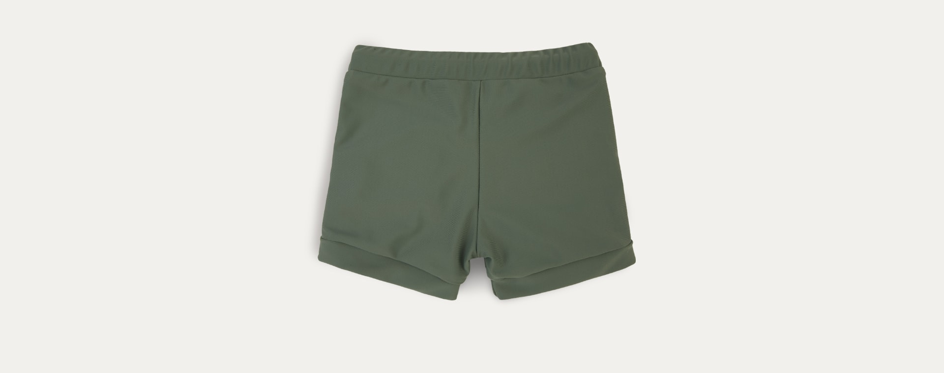 Olive KIDLY Label Recycled Swim Trunks