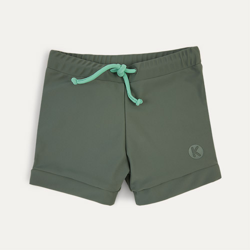 Olive KIDLY Label Eco Swim Trunks