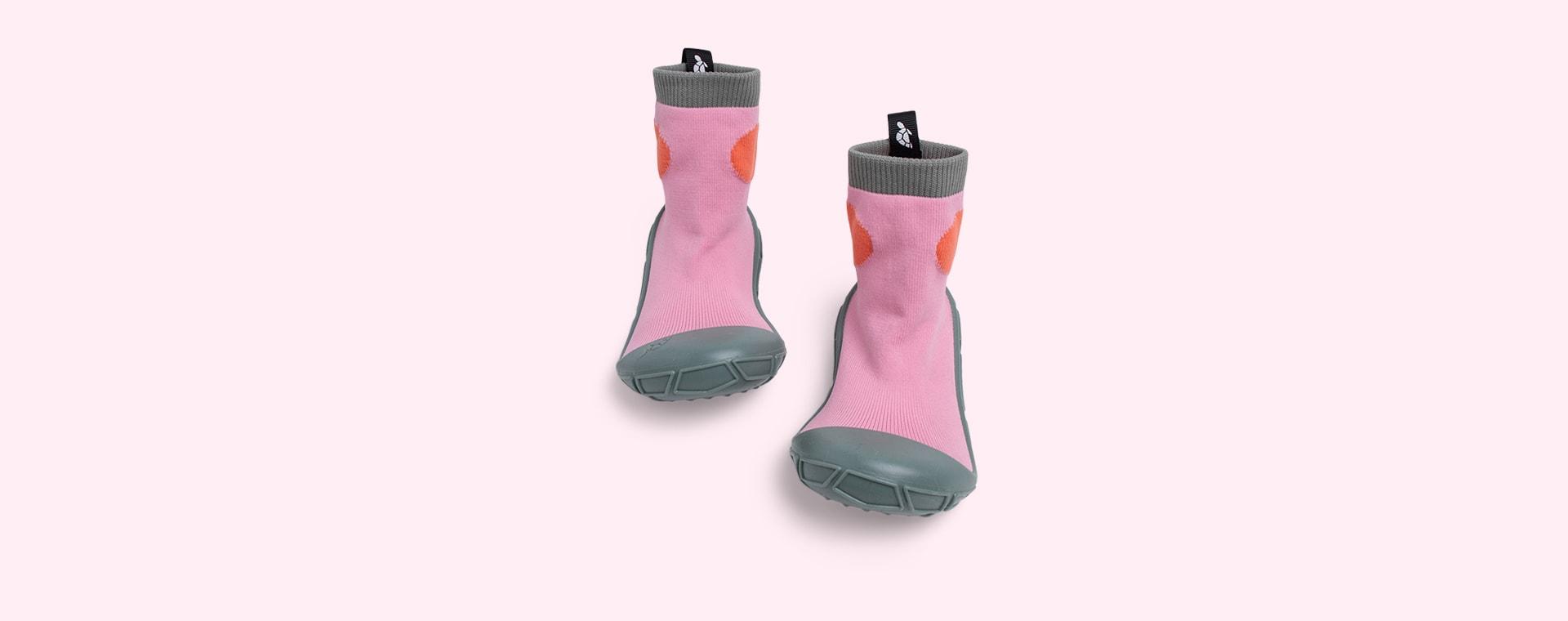 Pink turtl Tots Slipper Socks