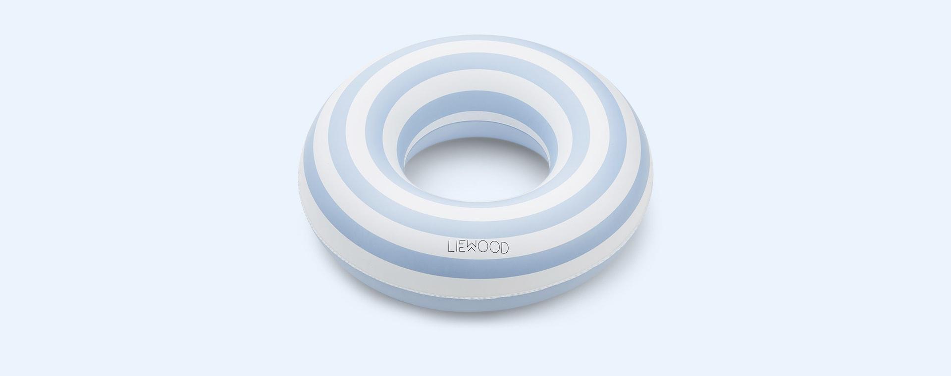 Blue Stripe Liewood Baloo Swim Ring