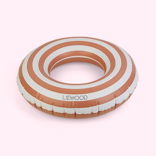 Stripe Tuscany Rose/Creme De La Creme Liewood Baloo Swim Ring