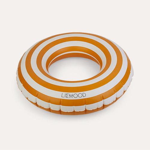 Mustard/Creme De La Creme Liewood Baloo Swim Ring