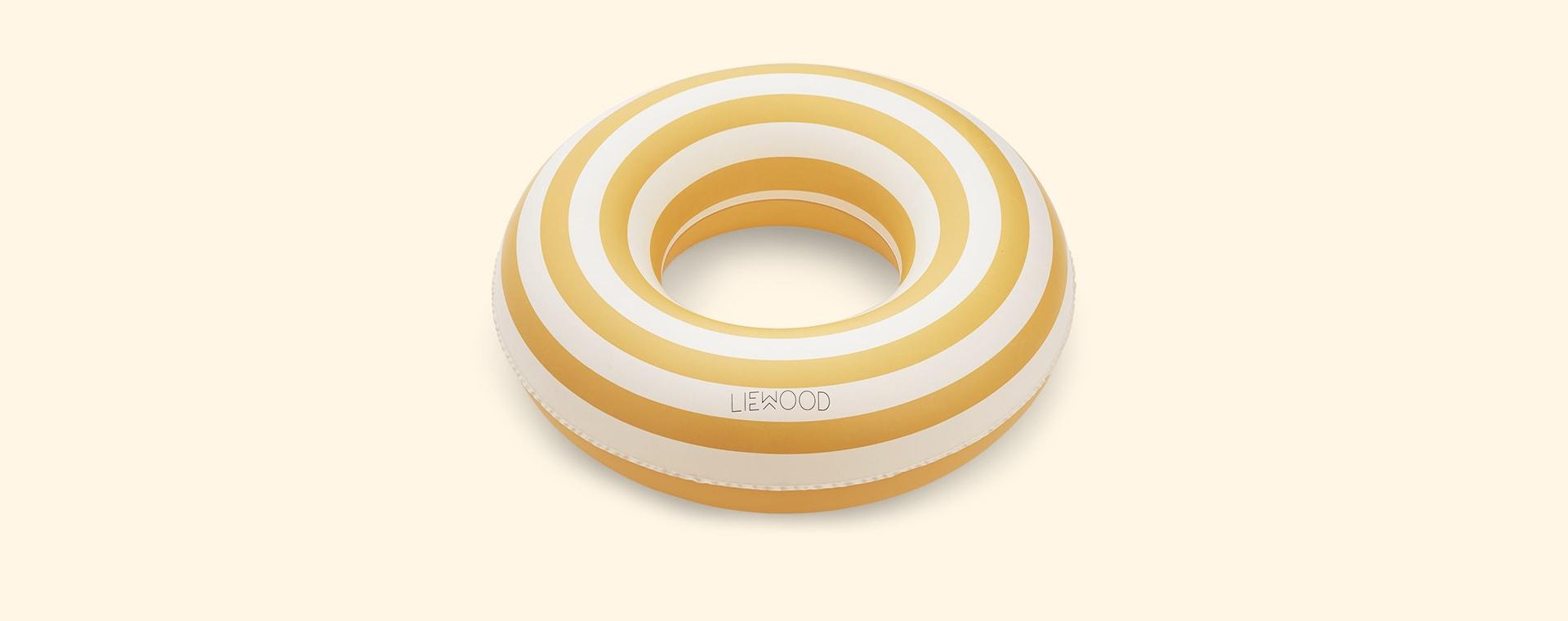 Yellow Stripe Liewood Baloo Swim Ring