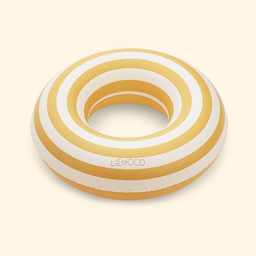 Yellow Stripe Liewood Baloo Swim Ring