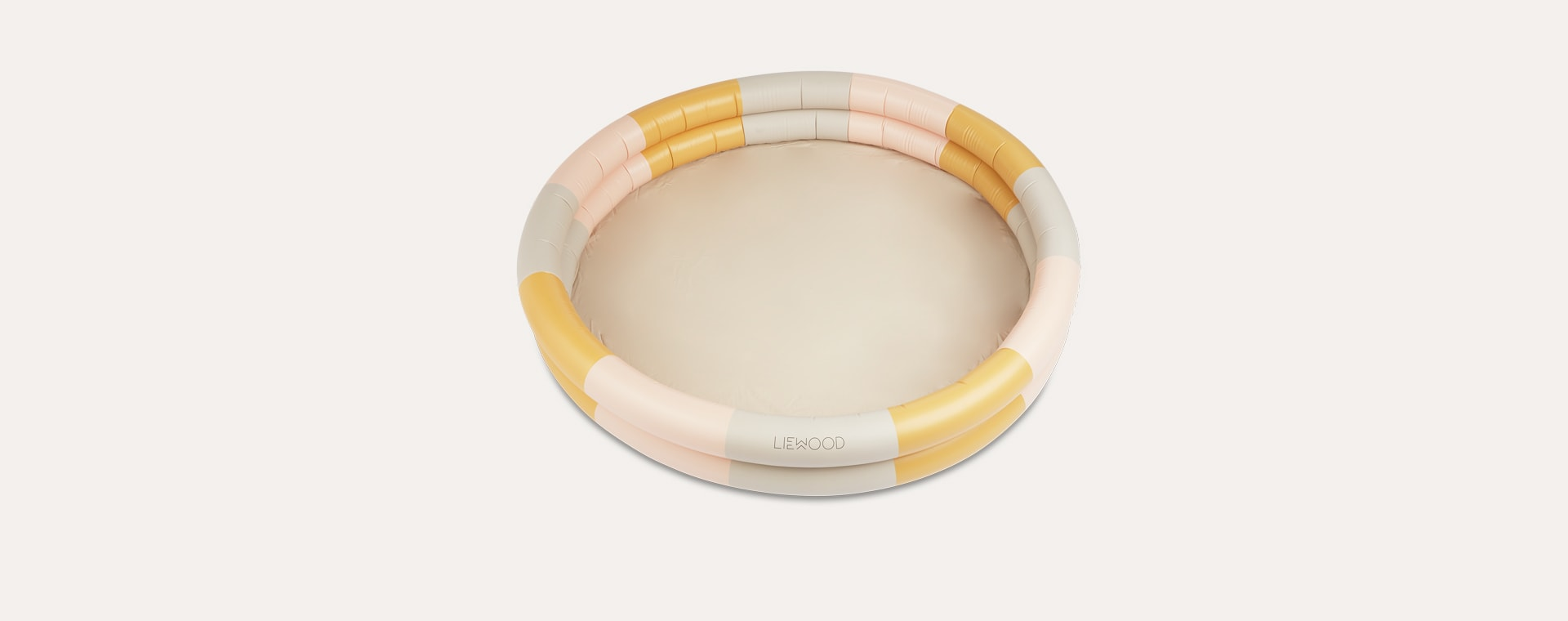 Stripe Peach/Sandy/Yellow Mellow Liewood Savannah Pool